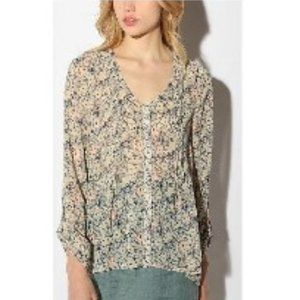 UO Pins and Needles chiffon tunic